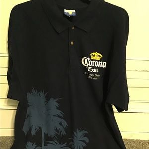 Corona short sleeve men's polo shirt,XL